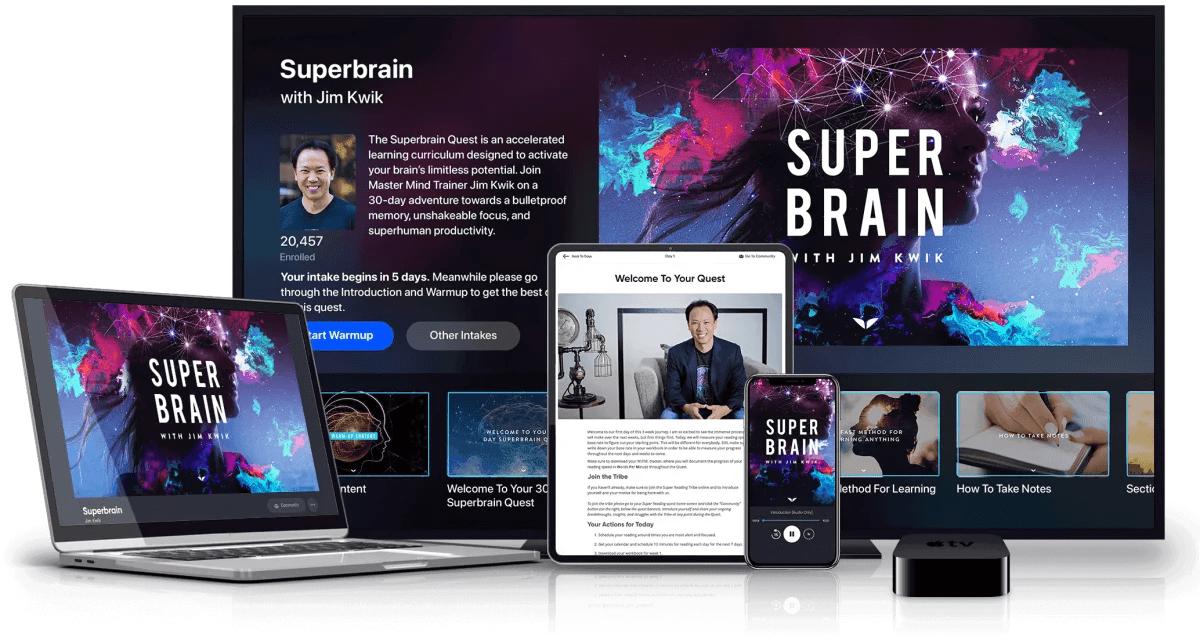 superbrain course content