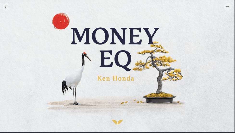 Money EQ Ken Honda mindvalley review