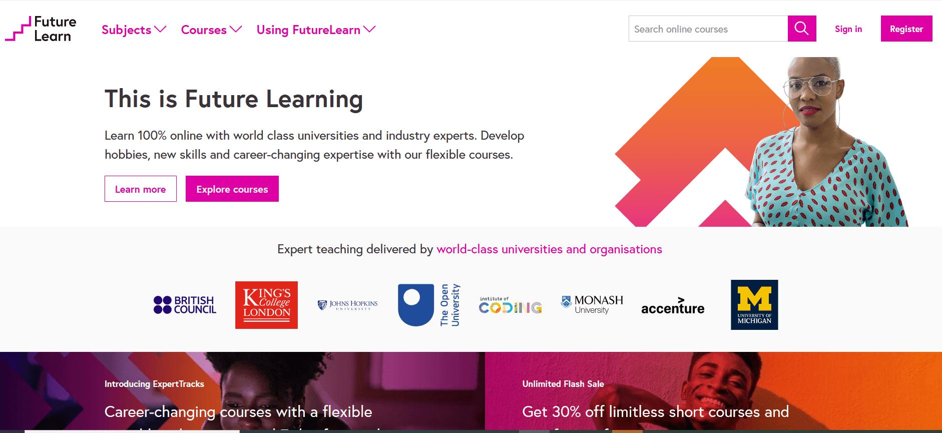 future learning best online education